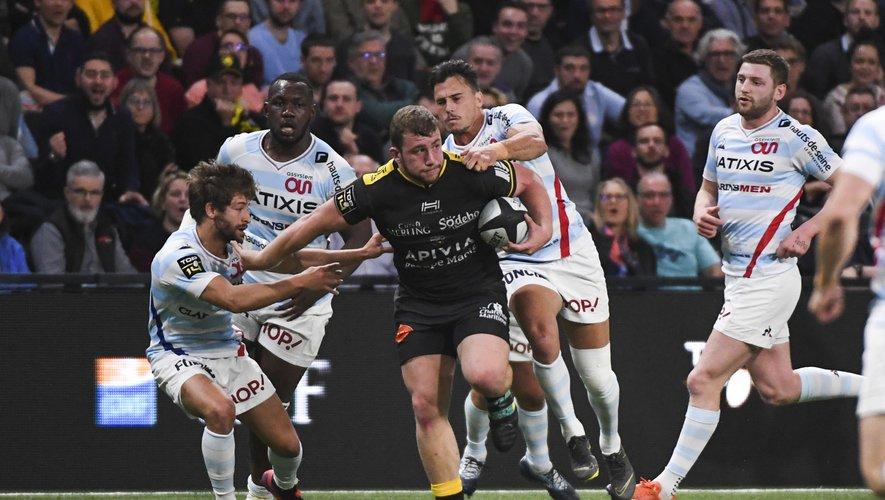 Pierre Bourgarit (La Rochelle) contre le Racing 92