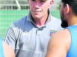 Gérald Bastide, entraîneur de la défense de Perpignan