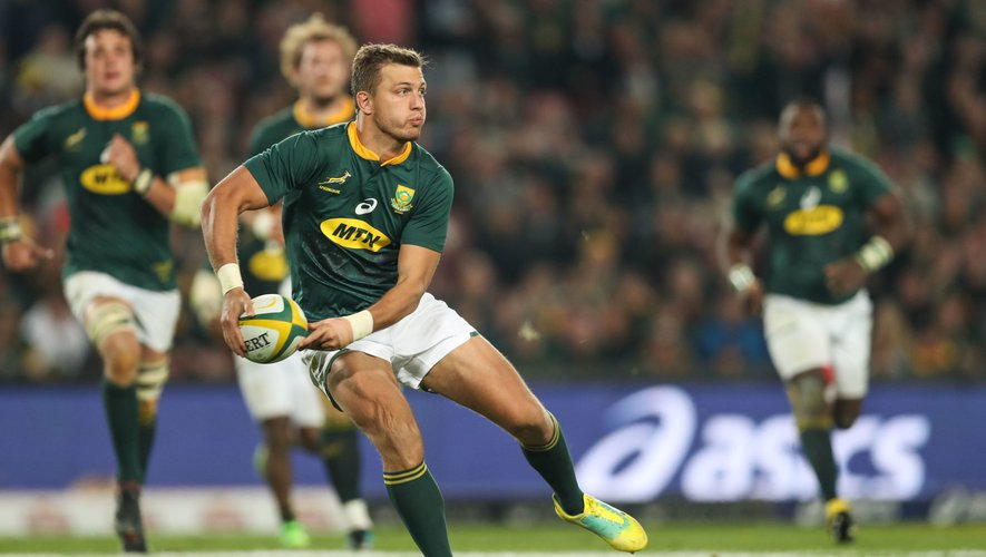 Pollard sous le maillot de l'Afrique du Sud