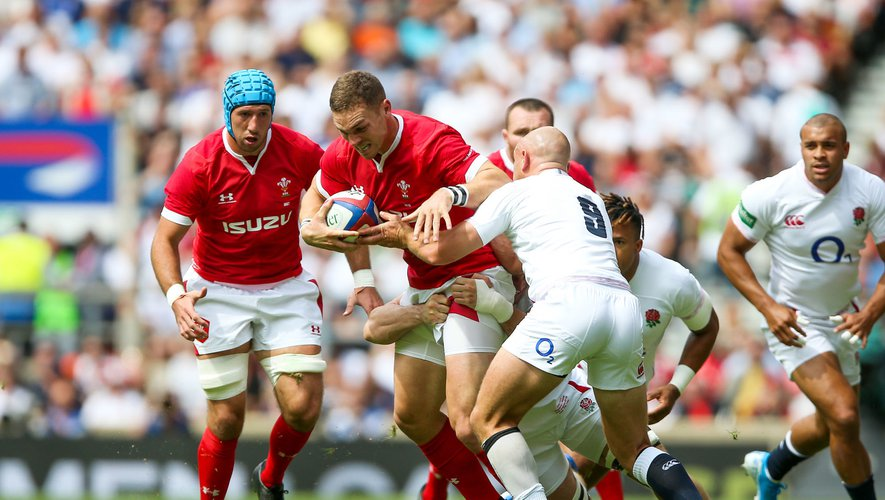 George North face aux Anglais