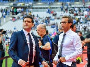 Fabien Galthié parti au chevet de l'équipe de France, Matthieu Lartot perd un complice avec lequel il a passé douze ans à l'antenne. Le journaliste de France Télévisions formera un nouveau duo, probablement avec Dimitri Yachvili. Photo Icon Sport