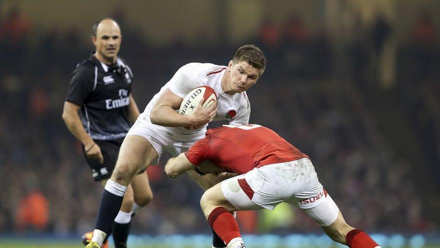 Owen Farrell contre le Pays de Galles