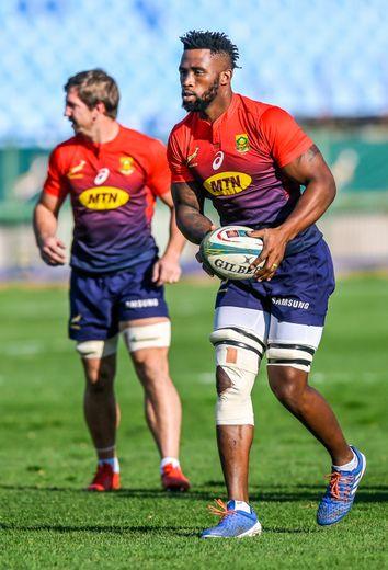 Siya Kolisi (Afrique du Sud) marque son grand retour avec les Boks