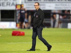 Match amical - Thierry Emin (président d'Oyonnax)