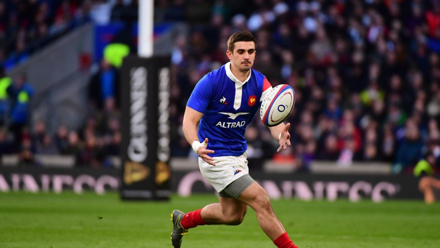 6 Nations 2019 - Thomas Ramos (France) contre l'Angleterre