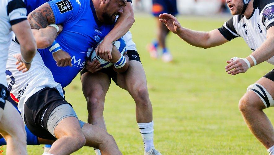 Contre Bristol en match amical, Karena Wihongi, 40 ans, a pu montrer que le temps n'avait pas d'effet sur lui. Photo Icon Sport