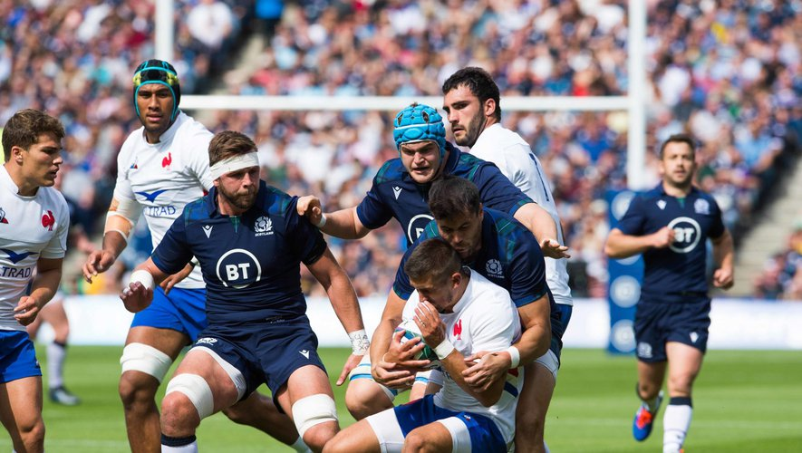 Test match - Thomas Ramos (France) contre l'Écosse