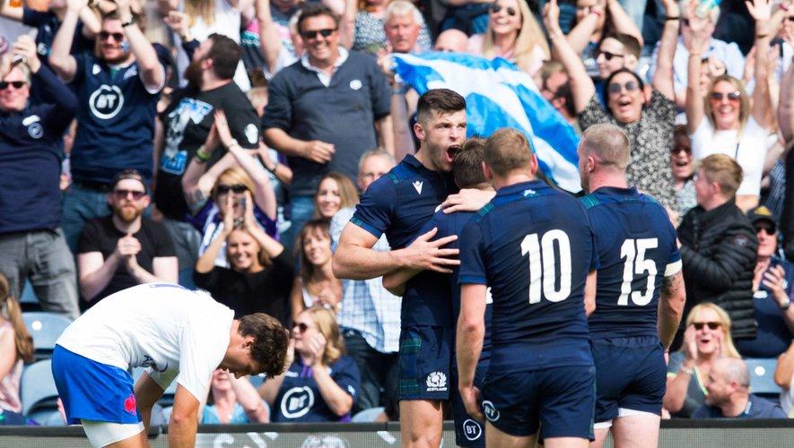 Les Bleus défaits en Écosse pour leur deuxième match de préparation à la Coupe du monde