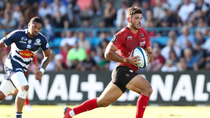 Top 14 - Julien Hériteau (Toulon) contre Agen