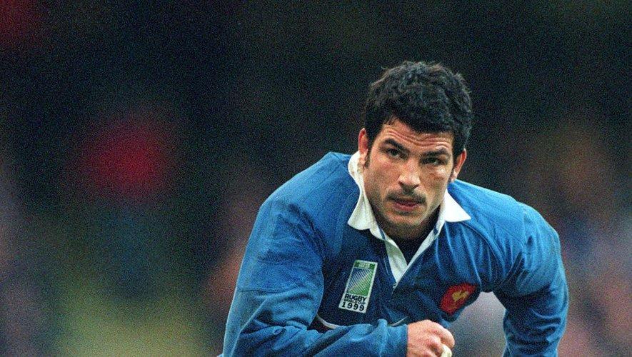 Marc Lièvremont (France) lors de la Coupe du monde 1999