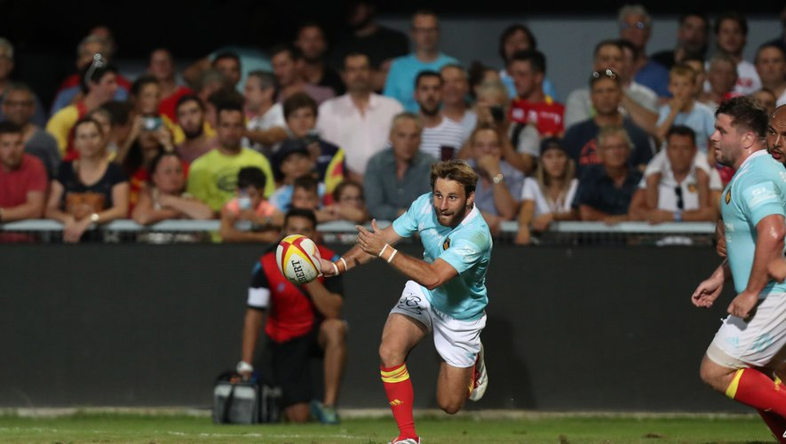 Tom Écochard (Perpignan) contre Béziers