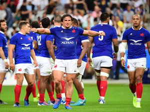 Test match - Camille Chat (France) contre l'Italie