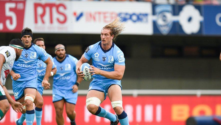 Jacques Du Plessis et les Montpelliérais ont su triompher des Palois en prônant un rugby ambitieux. Photo Icon Sport
