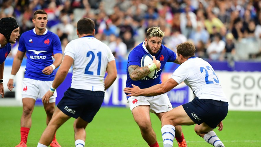 Test match - Cyril Baille (France) contre l'Italie