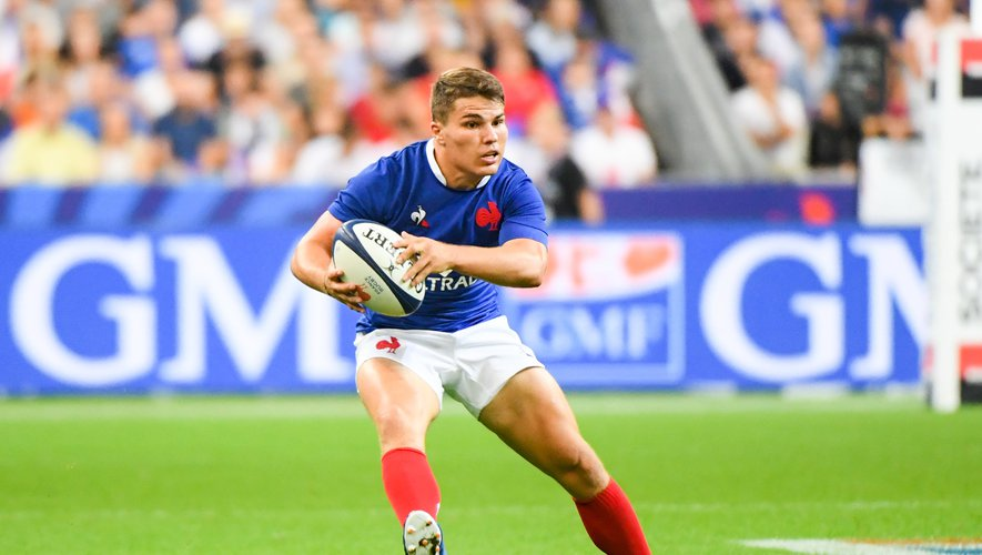 Test match - Antoine Dupont (France) contre l'Italie