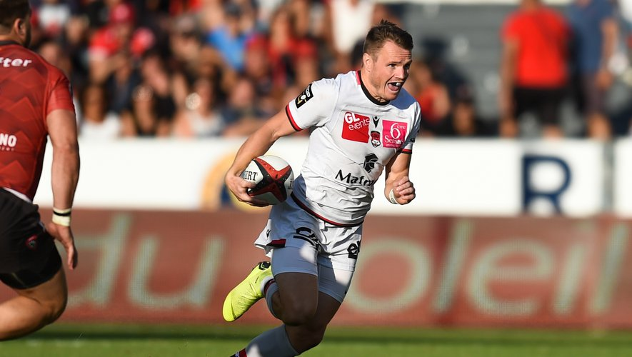 Toby Arnold (Lyon) contre Toulon