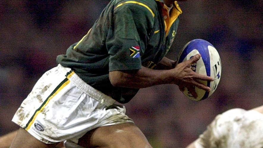 Chester Williams restera dans la légende du rugby international. Il a été le symbole de l'équipe sud-africaine de 1995. Photo Icon Sport