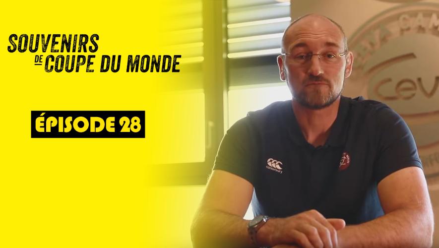 Souvenirs de Coupe du monde : Olivier Brouzet