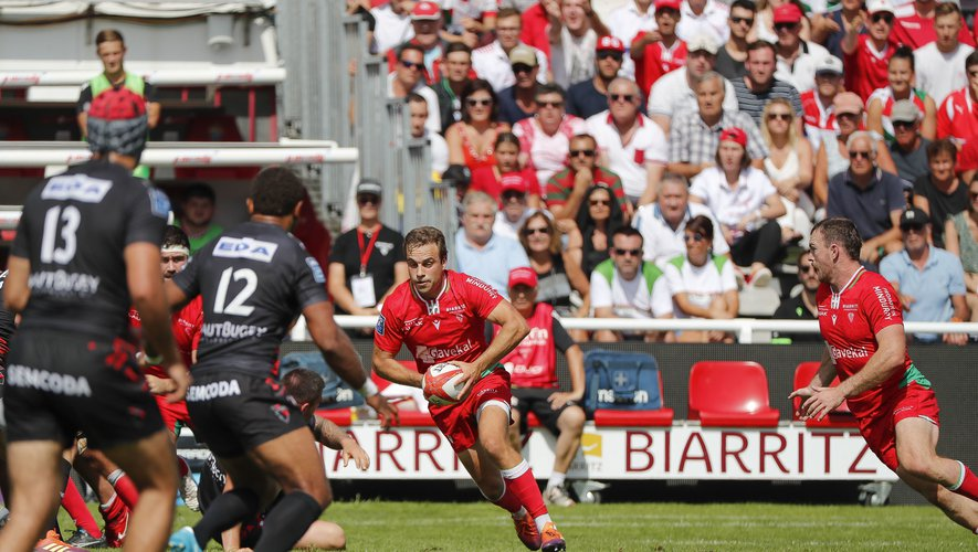 James Hart (Biarritz) contre Oyonnax