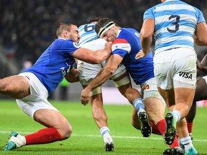 Louis Picamoles et Guilhem Guirado (France) contre l'Argentine