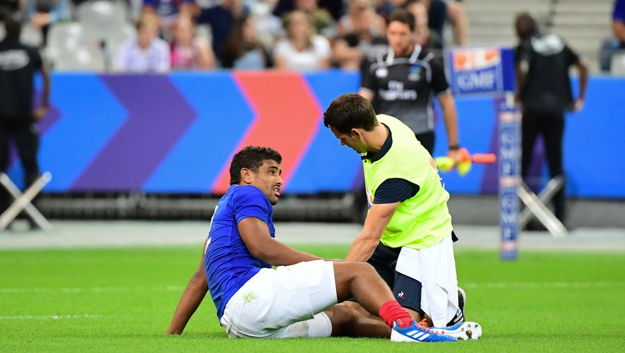 Wesley Fofana (France) contre l'Italie
