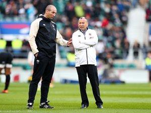 Steve Borthwick et Eddie Jones, désormais à la tête du XV de la Rose, veulent se mettre dans les meilleures dispositions avant de débuter la Coupe du monde.