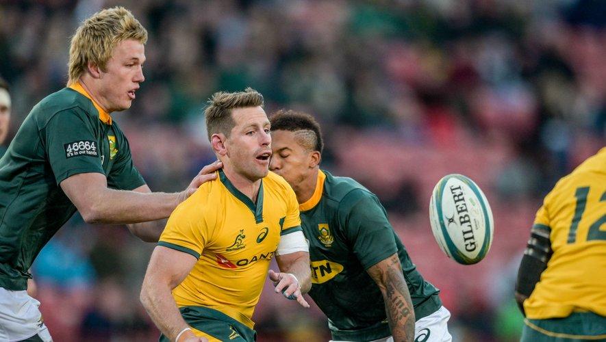 Rugby Championship - Bernard Foley (Australie) contre l'Afrique du Sud