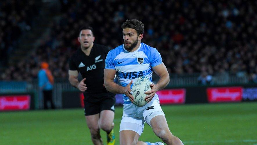 Ramiro Moyano est l'exemple type du profil privilégié par Mario Ledesma. L'ailier a disputé la finale de Super Rugby après avoir passé toute sa carrière en Argentine. Photo Icon Sport