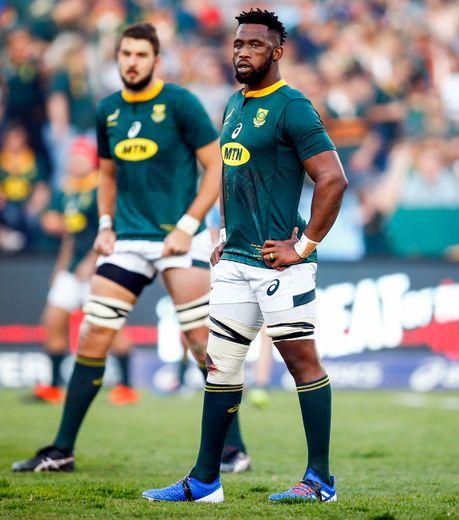 Le retour du capitaine Siya Kolisi est le seul changement dans l'équipe d'Afrique du Sud par rapport à celle victorieuse des Blacks l'an dernier. Photo Icon Sport