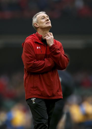 Wales assistant coach Rob Howley during the Guinness Six Nations match at the Principality Stadium, Cardiff, on February 23, 2019. Photo : PA Images / Icon Sport 41373603