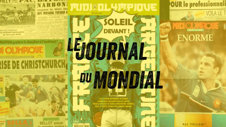 La une de Midi-Olympique ce vendredi 20 septembre 2019.