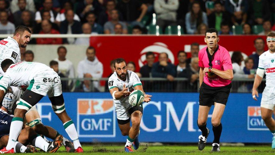 Samuel Marques (Pau) contre Agen