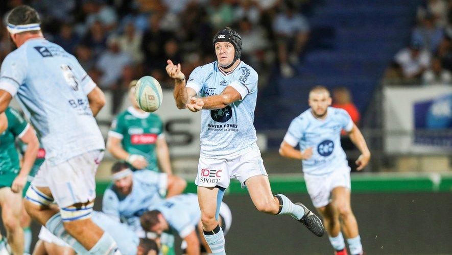 Willie Du Plessis (Bayonne) contre Pau
