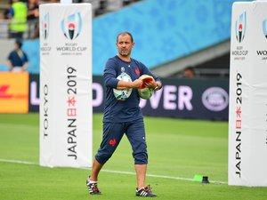 Jean-Baptiste élissalde, en charge des trois-quarts de l'équipe de France, livre un regard notamment sur le premier match contre l'Argentine et sur so relation avec les autres membres du staff. Photo Icon Sport