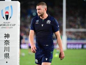 Finn Russell (Écosse) après la défaite contre l'Irlande