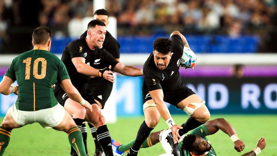 Ardie Savea (Nouvelle-Zélande) contre l'Afrique du Sud