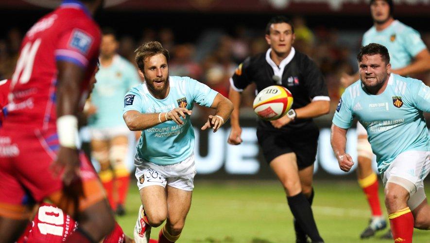 Les Perpignanais de Tom Écochard affrontent dimanche le leader invaincu du championnat de Pro D2, Soyaux-Angoulème. Les Catalans ont un impératif de victoire.