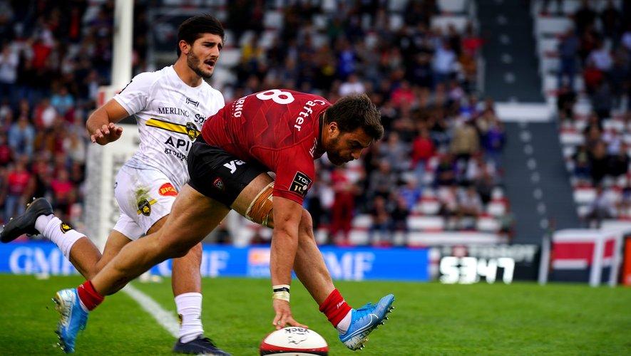 Facundo Isa et les Toulonnais ont réussi à se relancer après leur déconvenue de la semaine passée. Ce fut dur, mais ça passe ! Photo Julien Poupard