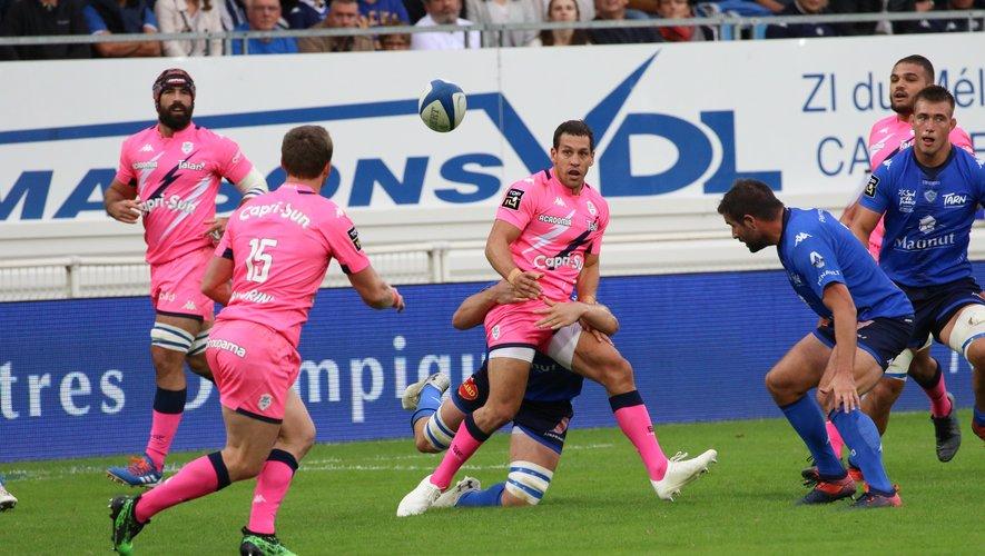 Après la défaite à Castres, le Stade français de Julien Arias, meilleur marqueur du club avec cent essais, devra faire preuve d'agressivité face aux Toulonnais pour espérer renouer avec la victoire. Photo Stéphanie Biscaye