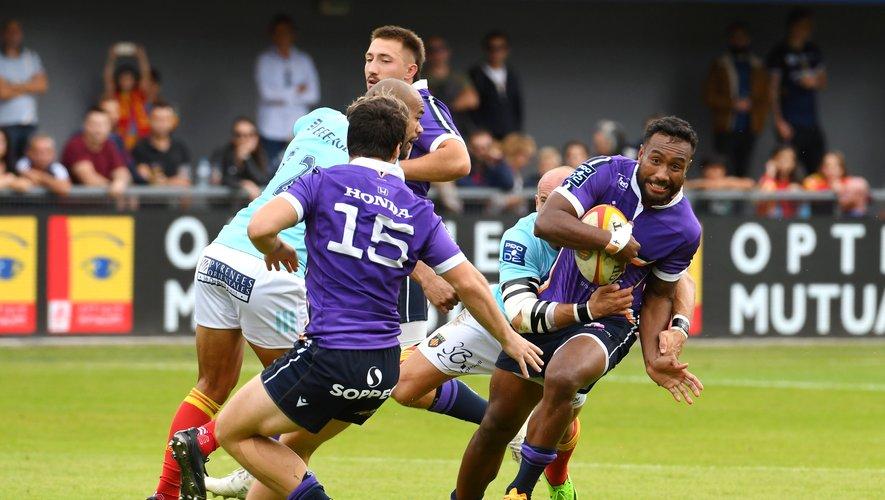 Tombés pour la première fois cette saison à Perpignan, les Angoumoisins devront vaincre Grenoble dans leur antre pour reprendre la place de leader de Pro D2 . Photo Michel Clementz