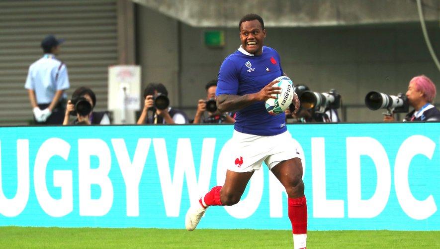 Repositionné au centre depuis son retour à XV, Virimi Vakatawa apporte beaucoup offensivement au jeu des Bleus. Photo M.O. - D.P.