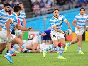 Les Argentins de Nicolas Sanchez ne verront pas les quarts pour la première fois depuis 2003. Quant aux Fidji de Ben Volavola, ils n'auront su bouleverser l'ordre établi de la poule D. Photos Icon Sport