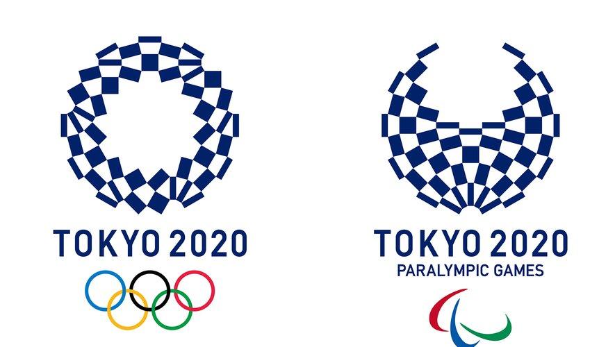 Le logo des JO 2020 qui se dérouleront à Tokyo