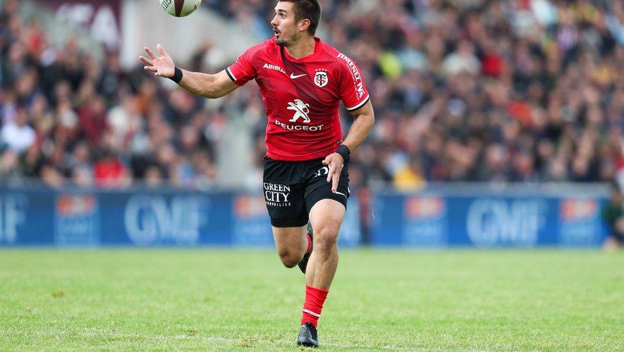 Thomas Ramos (Toulouse) sera bien de retour ce samedi contre Castres