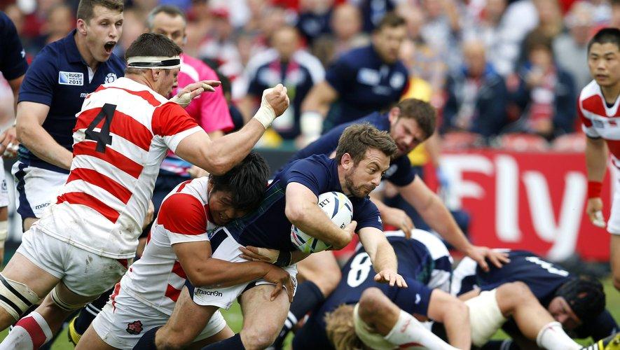 Greg Laidlaw (Écosse) contre le Japon