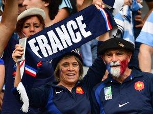 Les supporters de l'équipe de France au Japon pour la Coupe du monde 2019