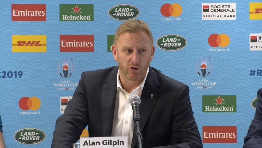 Alan Gilpin, directeur de la Coupe du monde 2019