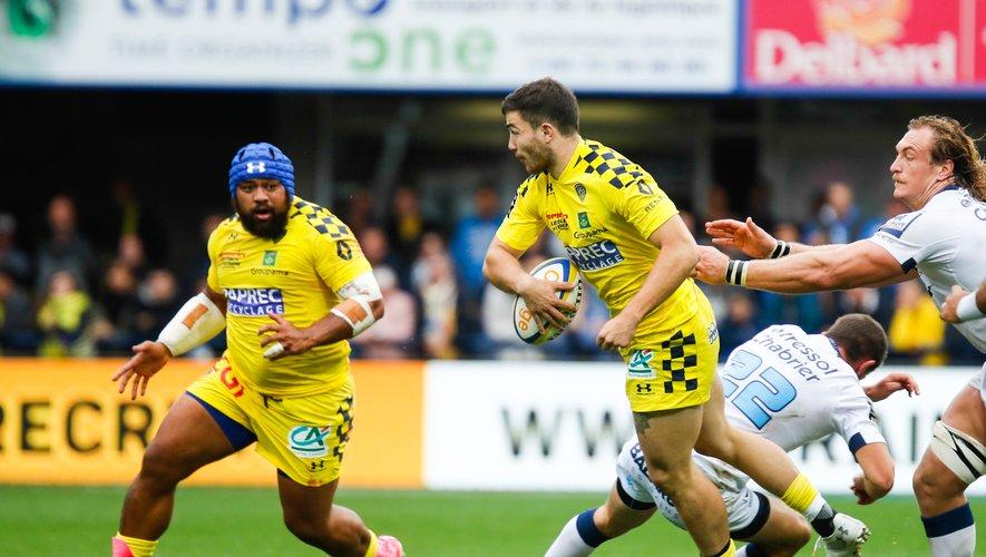 Marc Palmier (Clermont) contre Montpellier