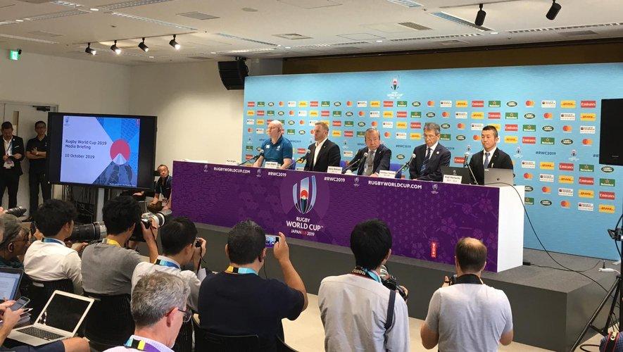 Depuis jeudi et la conférence de presse de World Rugby, le feuilleton autour de la rencontre capitale entre le Japon et l'écosse a alimenté l'actualité. Photos SV et Icon Sport