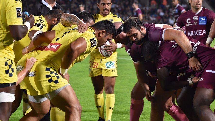 Les Clermontois n'ont pas trouvé de solutions pour venir à bout des Girondins. Photo Justine Hamon